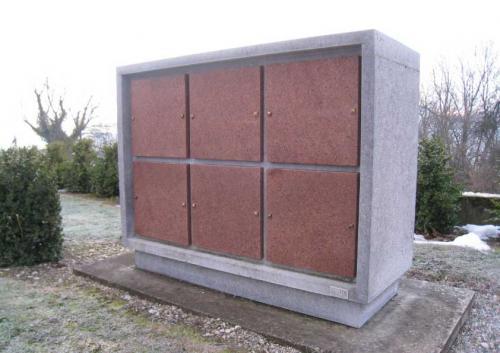 Columbarium en granit pour cimetière