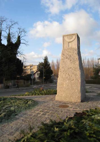 sculpture sur pierre giratoire Yverdon-les-Bains