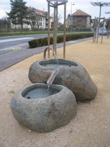 La Sarraz - Fontaine - jeux d'eau