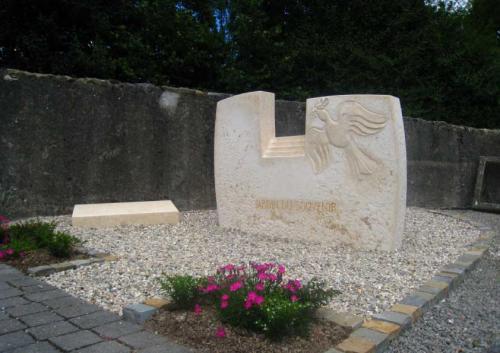 Jardin du souvenir en pierre naturelle sculpté pour cimetière