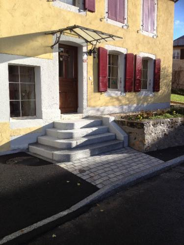 Escalier en granit gris espagnol