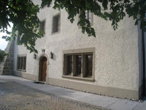 Encadrement de fenêtre en Molasse - Château de Donneloye