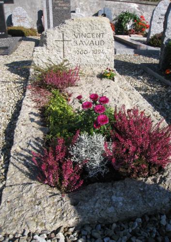 Monument funéraire rocher nature en grès de la Molière
