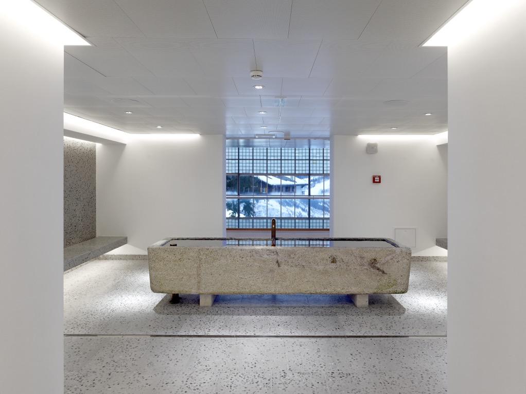leukerbad clinic / photos: t. jantscher / architectes: www.sas-architecture.com
